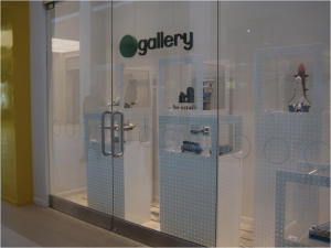 "Lego's front windows now hold a ""Gallery"""