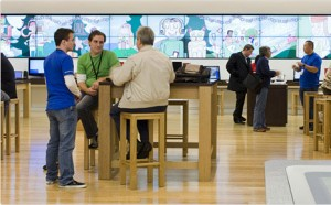 Old Apple...I mean, Microsoft store interior